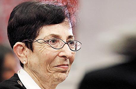 השופטת ברלינר, צילום: אוראל כהן