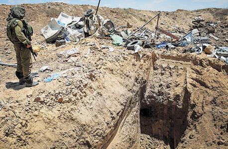מנהרות הלחימה של עזה הפכו לענף יצוא של חמאס