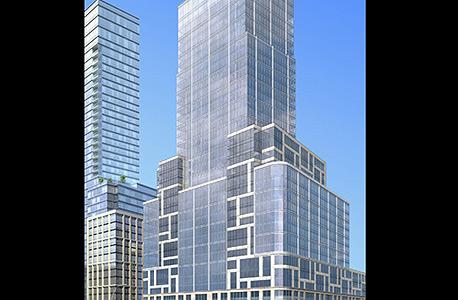 הדמיה של מגדל אקסטל במנהטן ניו יורק