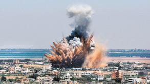 צוק איתן, צילום: Eyad Al Baba