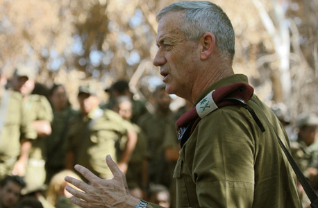 Former IDF Chief of General Staff Benny Gantz. Photo: IDF Spokesman's Office