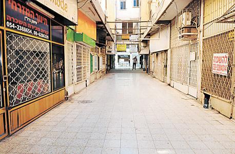 חנויות סגורות בבאר שבע