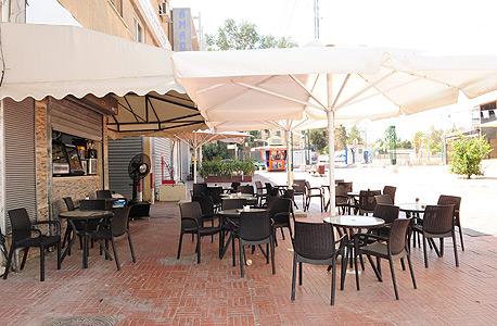 בית קפה ריק בבאר שבע, צילום: הרצל יוסף