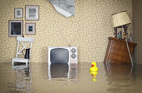 הצפה בבית (ארכיון), צילום: שאטרסטוק