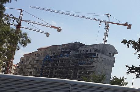 בנייה בירושלים (ארכיון)