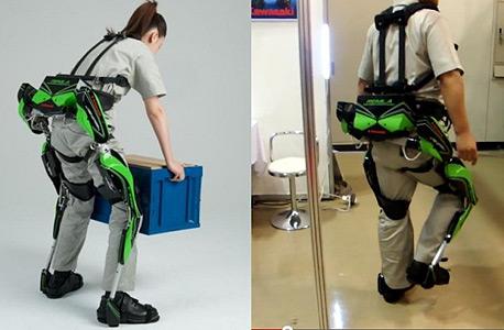 חליפה רובוטית שפיתחה קווסאקי. מאפשרת הנפת מטענים ומיועדת לשוק הארגוני