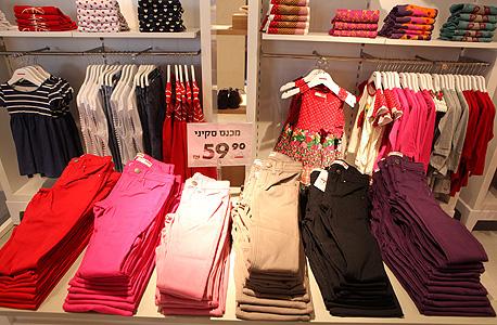 חנות בגדי ילדים. עלייה בביקוש, צילום: עמית שעל