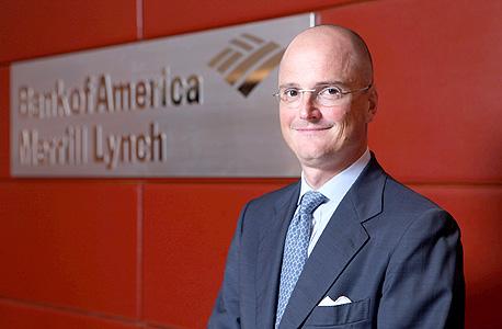 דייגו די גורגי מנכל בנק אוף אמריקה אירופה, צילום: עמית שעל