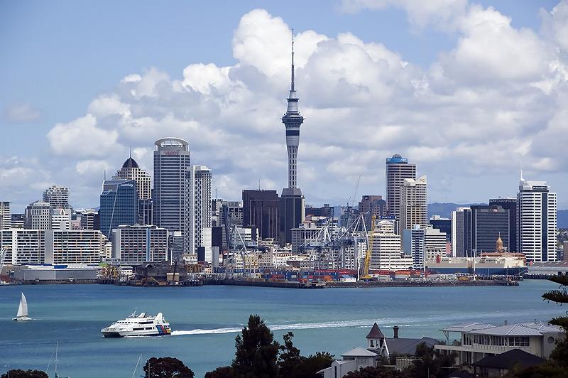 במקום ה-3: אוקלנד, ניו זילנד