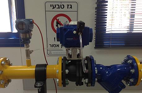 גז טבעי, צילום: חברת החשמל