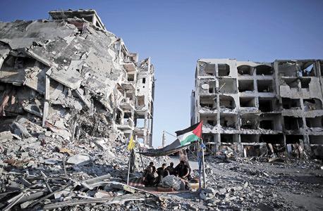 """בית לאהיה השבוע. """"ארצות הברית צריכה להכריז על תוכנית מרשל לשיקום עזה, שתתבצע רק אם חמאס יתפרק מנשקו"""""""