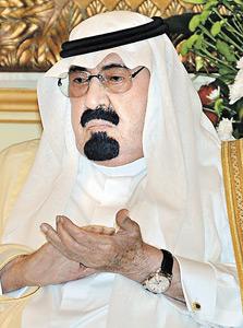 מלך סעודיה עבדאללה
