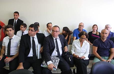 """הדיון הבוקר בביהמ""""ש בת""""א, צילום: אוראל כהן"""