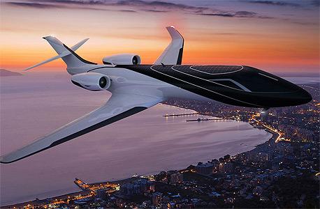 המטוס העתידי מבחוץ