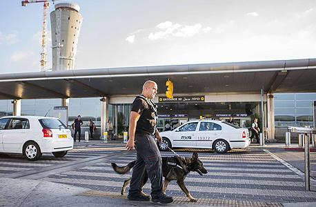 """נתב""""ג צוק איתן אבטלה בנתב""""ג החמאס, צילום: JACK GUEZ"""