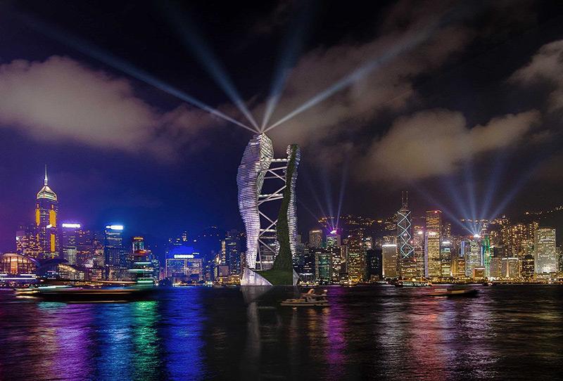 המגדל בהונג קונג