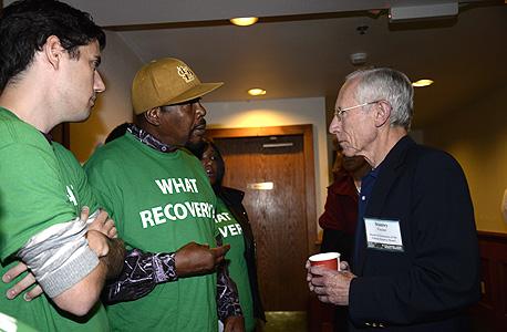 סטנלי פישר ועידת ג'קסון הול 2014, צילום: בלומברג