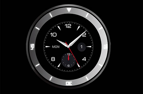 LG שעון חכם G Watch R, צילום מסך: Youtube