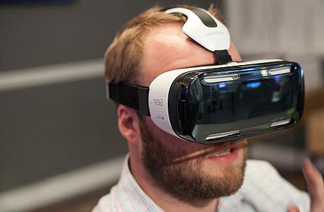 סמסונג גיר VR מציאות מדומה