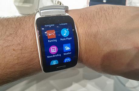סמסונג גיר S שעון חכם IMAG0243, צילום: הראל עילם