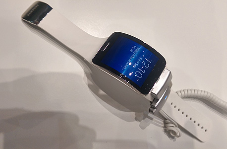 סמסונג גיר S שעון חכם IMAG0247, צילום: הראל עילם