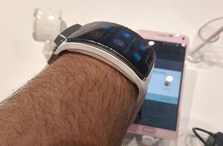 סמסונג גיר S שעון חכם IMAG0244, צילום: הראל עילם