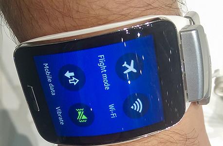 סמסונג גיר S שעון חכם IMAG0242, צילום: הראל עילם
