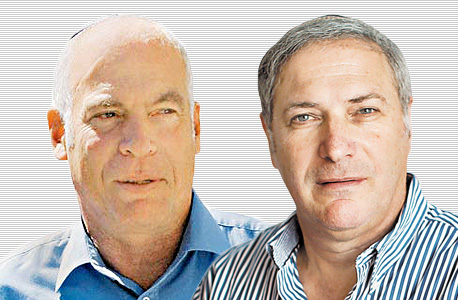 בנצי ליברמן ו אורי אריאל, צילום: טל שחר, אלכס קולומויסקי