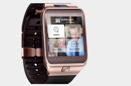 אפליקציית שעון חכם לניהול עובדים של ClickSoftware