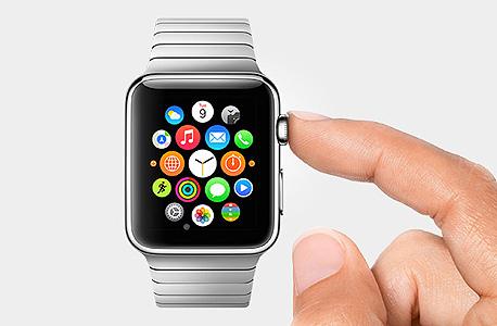 ממשק השליטה של Apple Watch
