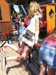 נערה בגני טיבולי, אולי הלונה פארק האלגנטי בעולם
