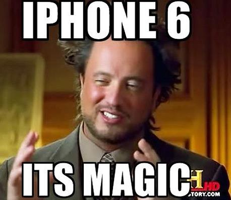 מם אייפון 6 שהופץ בטוויטר