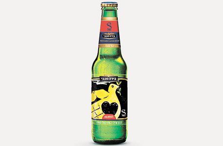 בירה מכבי במהדורת יוסף באו. במוזיאונים ובגלריות