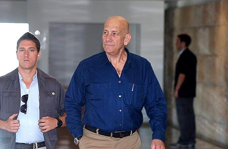 אהוד אולמרט בית המשפט העליון, צילום: עמית שעבי