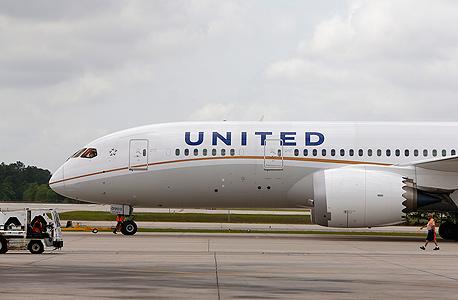 מטוס של יונייטד איירליינס, צילום: בלומברג