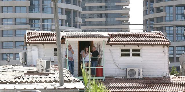 דיירים בגבעת עמל, צילום: שאול גולן