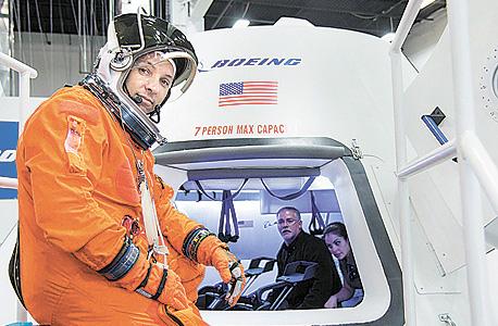 חללית של בואינג נבחנת בידי אסטרונאוטים