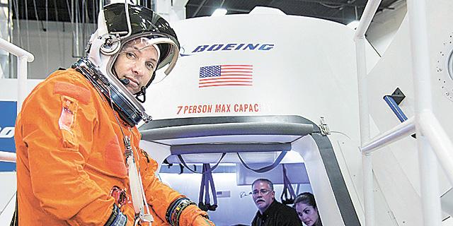 חללית של בואינג נבחנת בידי אסטרונאוטים, צילום: רויטרס