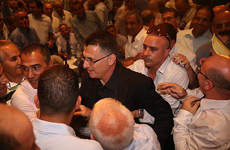 גדעון סער בכנס פעילים, צילום: מוטי קמחי