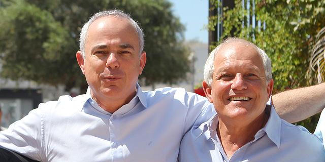 חיים כץ (מימין) ויובל שטייניץ, צילום: אוראל כהן