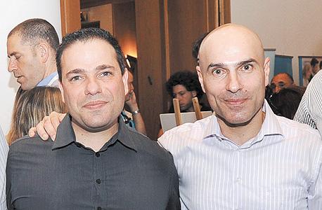 אפי נוה (מימין) ודורון ברזילי, בימים טובים יותר