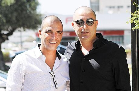 ג'קי בן זקן (מימין) וחיים רביבו, צילום: אוראל כהן
