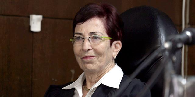 נשיאת בית המשפט המחוזי בתל אביב לשעבר השופטת דבורה ברלינר, צילום: יריב כץ
