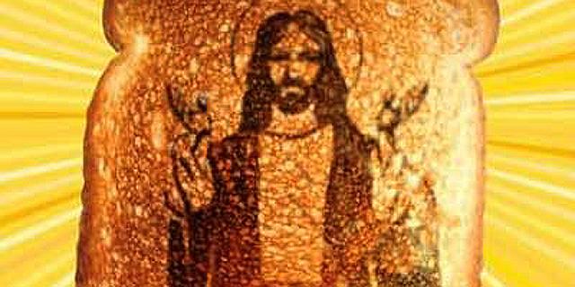 איגנובל 2014: מה קורה במוח כשאתם רואים את ישו על טוסט?