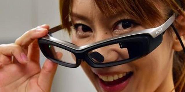 EyeGlass: משקפיים חכמים בגרסה של סוני
