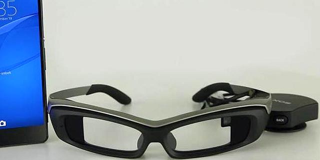 משקפי סוני, לצד סמארטפון אקספריה וממשק השליטה