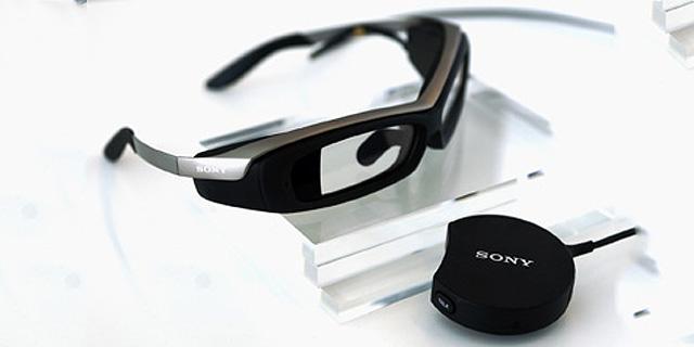 משקפי סוני וממשק השליטה שלהם