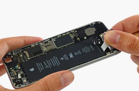 סוללה גדולה פיזית, רכיבים זולים. אייפון 6