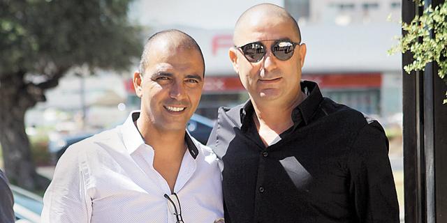 רביבו ובן זקן בימים טובים יותר, צילום: אוראל כהן