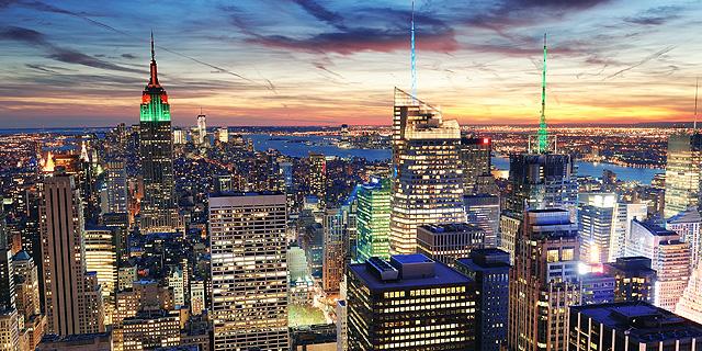 בניינים במנהטן, צילום: שאטרסטוק